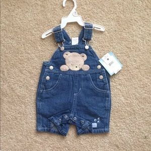 NWT baby bear overalls
